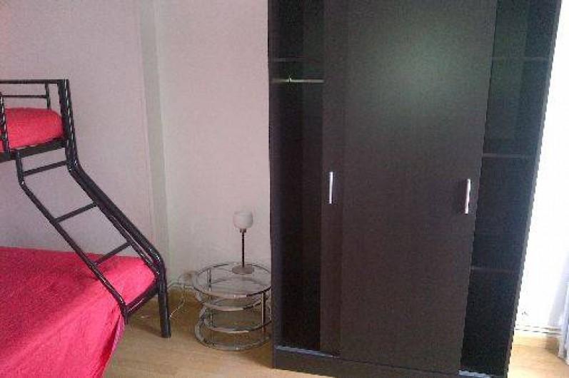 Location de vacances - Appartement à Fort-Mahon-Plage - Chambre 3 couchages