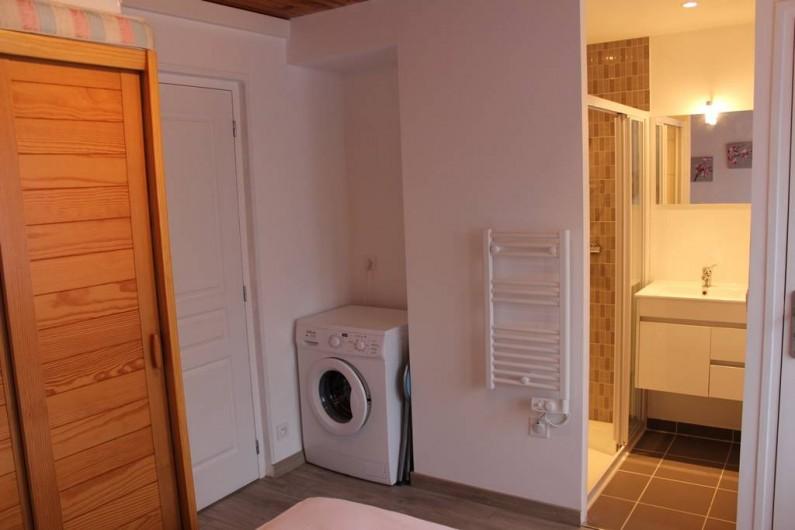 Location de vacances - Appartement à Saint-Pair-sur-Mer - équipé machine a laver