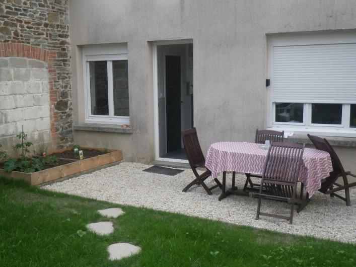 Location de vacances - Appartement à Saint-Pair-sur-Mer - terrasse