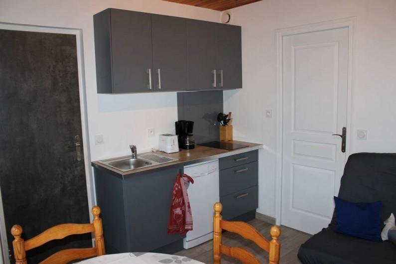 Location de vacances - Appartement à Saint-Pair-sur-Mer - Cuisine