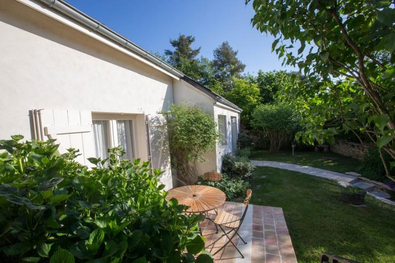 Location de vacances - Chambre d'hôtes à Beaune - Le Gîte Les Pins rattaché à la chambre d'hôtes