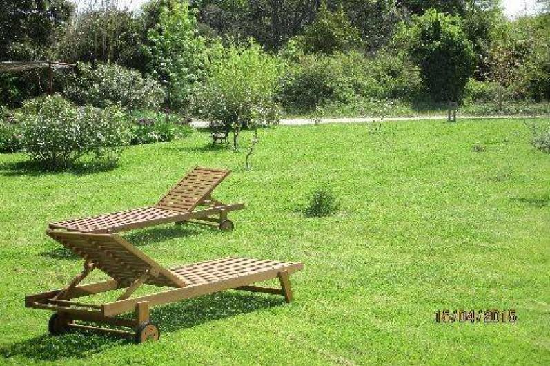 Location de vacances - Gîte à Salon-de-Provence - Les bains de soleil vous attendent