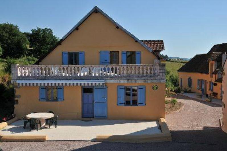 Location de vacances - Gîte à Autun - gite entrée