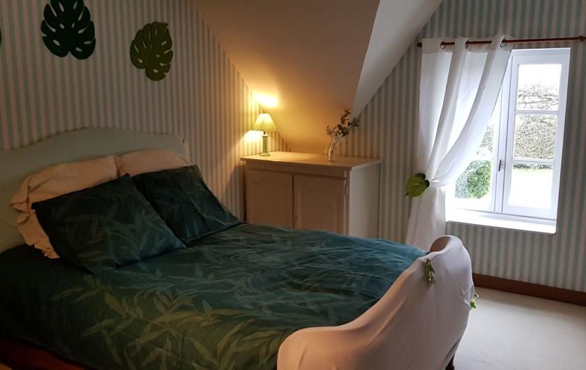 Location de vacances - Gîte à Bourguenolles - Chambre verte