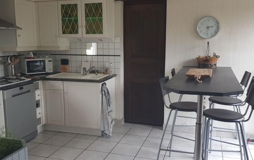 Location de vacances - Gîte à Bourguenolles - Cuisine