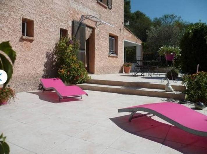 Location de vacances - Maison - Villa à Aix-en-Provence - Terrasse