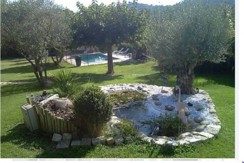Location de vacances - Maison - Villa à Aix-en-Provence - Jardin