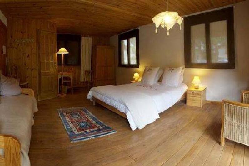 Location de vacances - Hôtel - Auberge à Névache - Chambres spacieuses et confortables avec terrasse privative ...