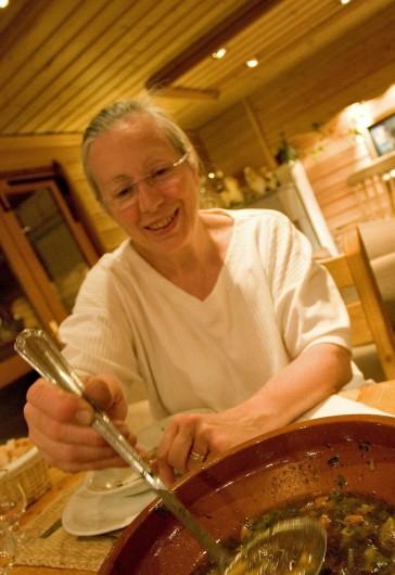 Location de vacances - Hôtel - Auberge à Névache - A la Joie de Vivre la cuisine est faite à la Maison avec des produits locaux ...