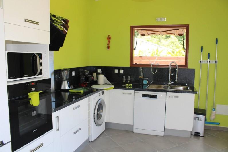 Location de vacances - Maison - Villa à Le Gosier - une Cuisine entièrement équipée