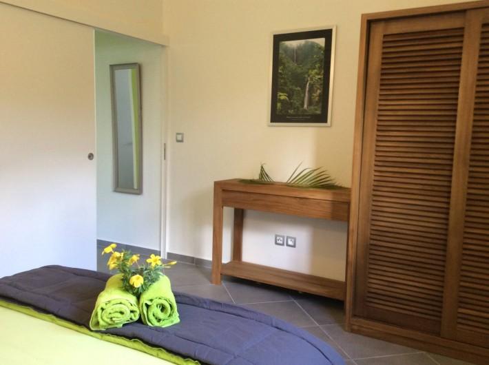 """Location de vacances - Maison - Villa à Le Gosier - Chambre  villa """"Cool"""""""