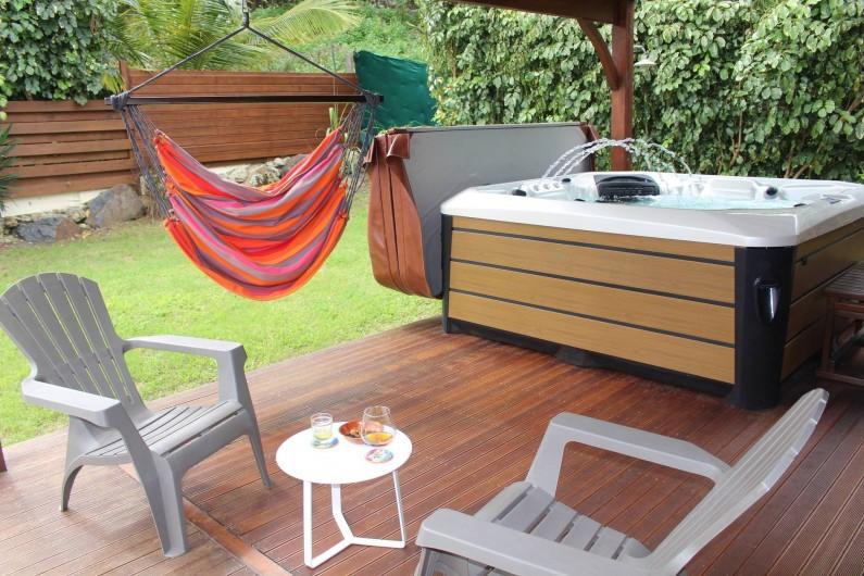 Location de vacances - Maison - Villa à Le Gosier - Espace détente Jacuzzi