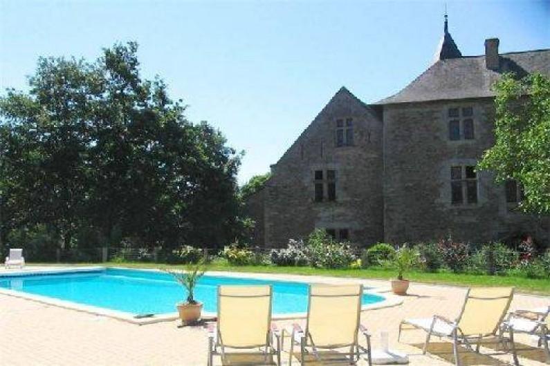 Location de vacances - Château - Manoir à Faye-d'Anjou