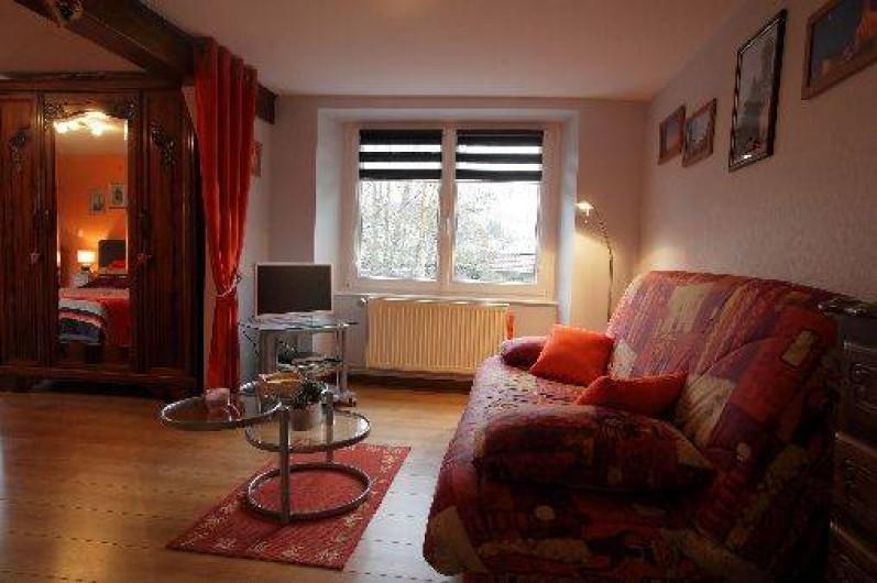 Location de vacances - Gîte à Maisonsgoutte - clic-clac 140/190  avec la télé