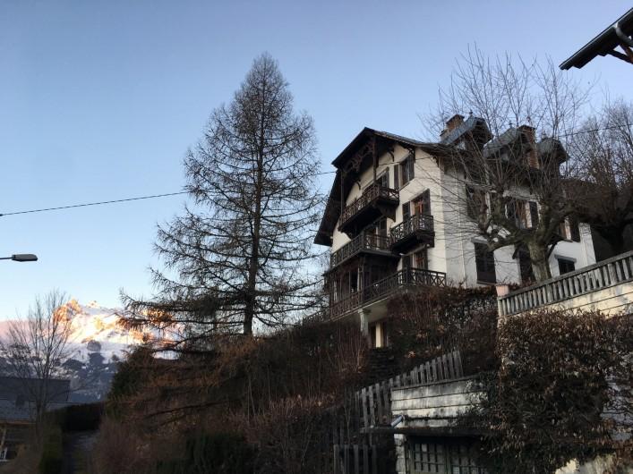 Location de vacances - Appartement à Saint-Gervais-les-Bains - Chalet face gauche