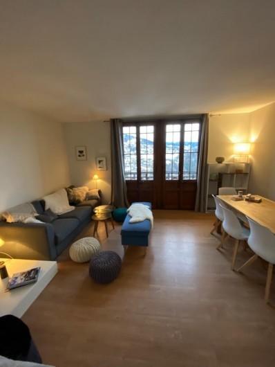 Location de vacances - Appartement à Saint-Gervais-les-Bains - Living-room