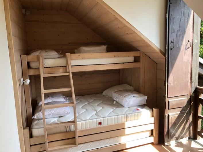 Location de vacances - Appartement à Saint-Gervais-les-Bains - chambre 3