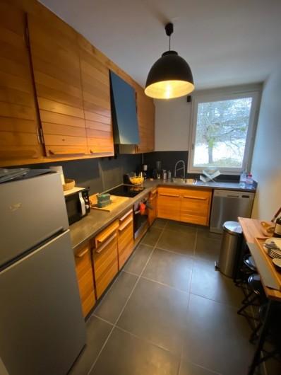 Location de vacances - Appartement à Saint-Gervais-les-Bains - Cuisine