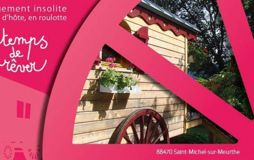Location de vacances - Roulotte à Saint-Michel-sur-Meurthe