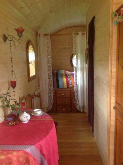 Location de vacances - Roulotte à Saint-Michel-sur-Meurthe - un petit thé?