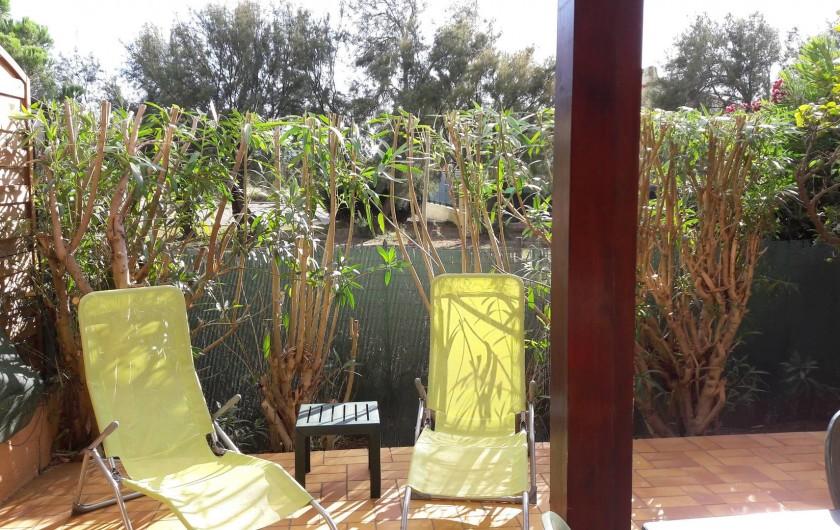 Location de vacances - Villa à Saint-Cyprien Plage - Bains de soleil
