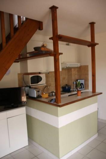 Location de vacances - Villa à Saint-Cyprien Plage - coin cuisine