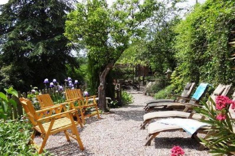 Location de vacances - Chambre d'hôtes à Cuxac-Cabardès - Jardin
