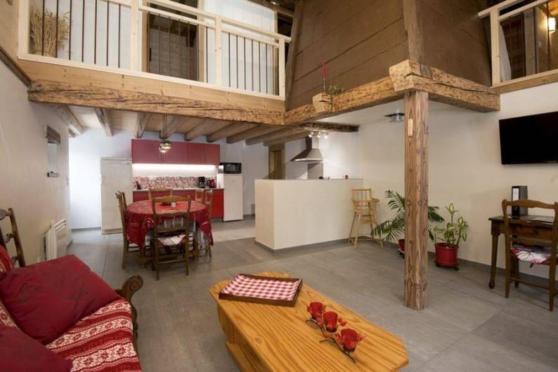 Location de vacances - Gîte à Saint-Pierre-de-Chartreuse - Coin cuisine / salon