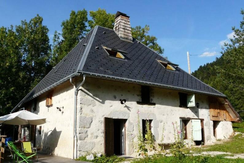 Location de vacances - Gîte à Saint-Pierre-de-Chartreuse - Idéal l'été pour se retrouver en famille ou entre amis !