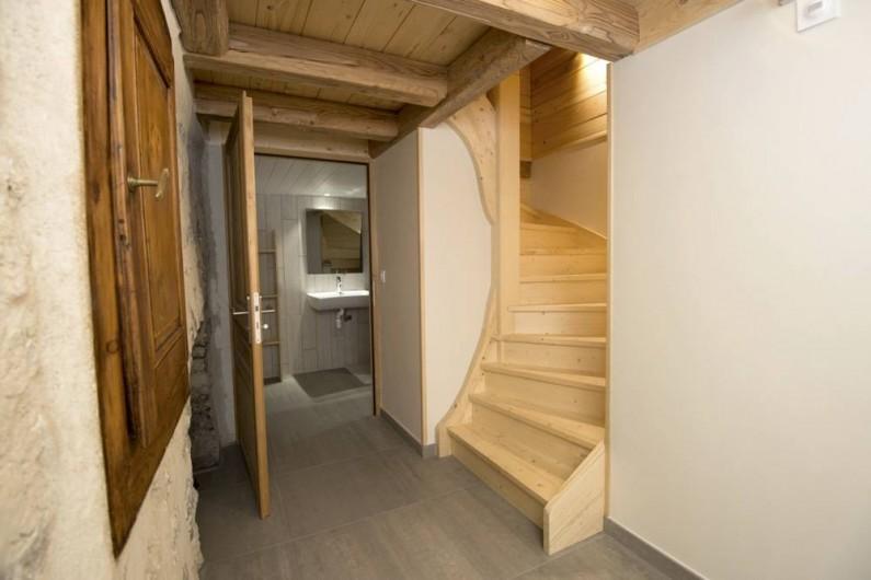 Location de vacances - Gîte à Saint-Pierre-de-Chartreuse - Accès à l'étage