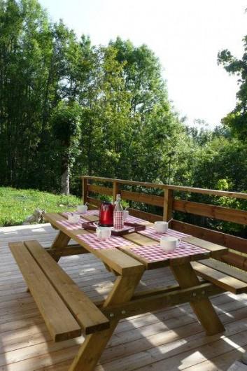 Location de vacances - Gîte à Saint-Pierre-de-Chartreuse - Coin terrasse