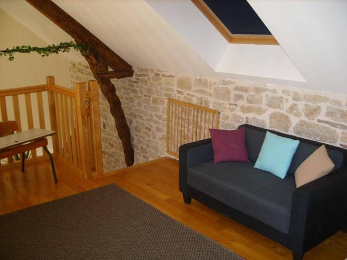 Location de vacances - Gîte à Turenne - la mezzanine