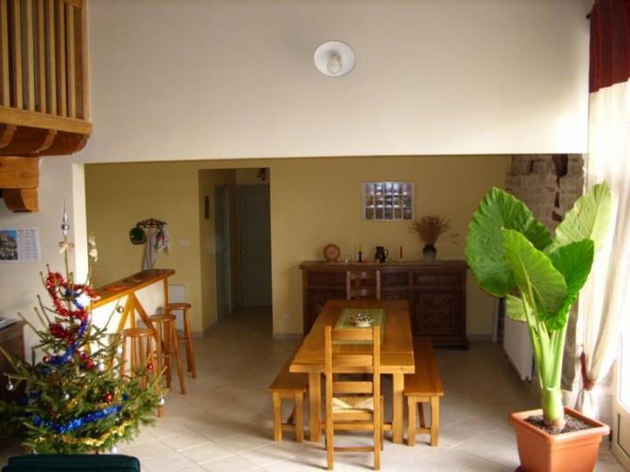 Location de vacances - Gîte à Turenne - salle à manger