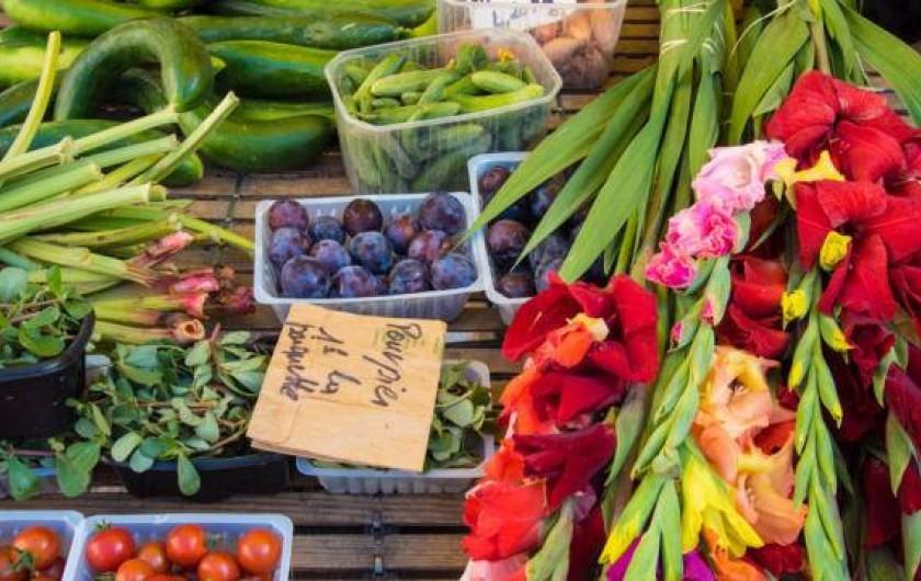 Location de vacances - Gîte à Turenne - le marché de Sarlat
