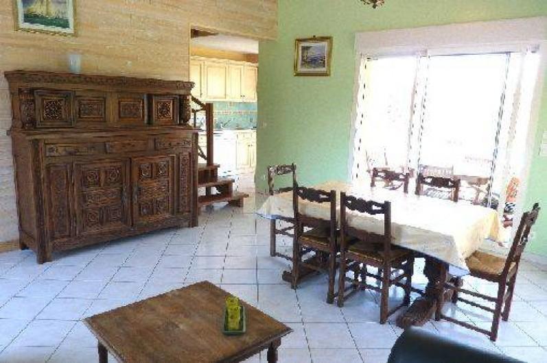 Location de vacances - Villa à Loubressac - salle à manger