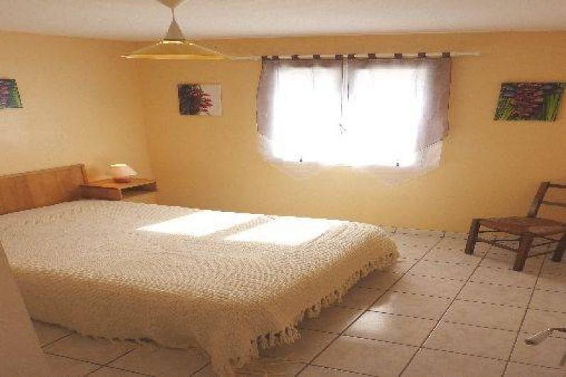 Location de vacances - Villa à Loubressac - chambre1 : RDC - lit 140