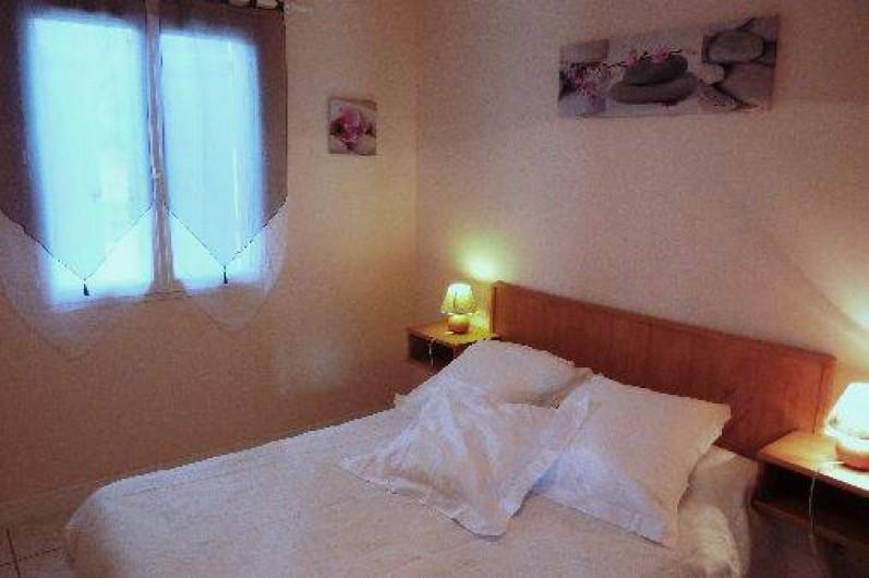 Location de vacances - Villa à Loubressac - chambre 2 : RDC  lit 140