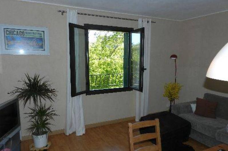 Location de vacances - Appartement à L'Isle-sur-la-Sorgue - Séjour