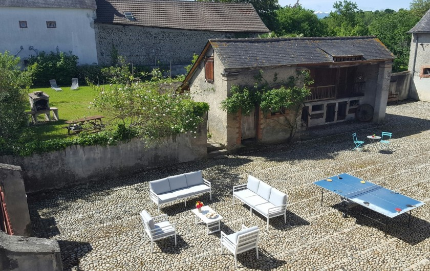 Location de vacances - Gîte à Bordères-sur-l'Échez - Vue depuis les chambres