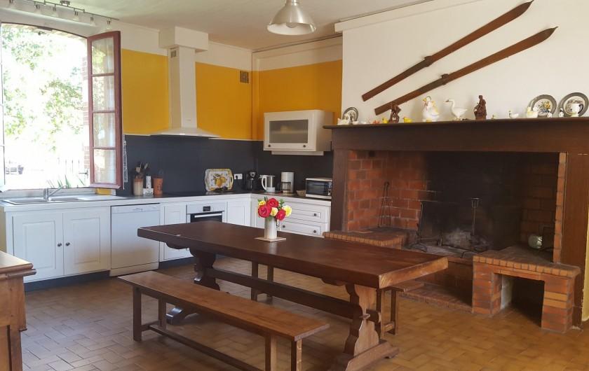 Location de vacances - Gîte à Bordères-sur-l'Échez - La cuisine