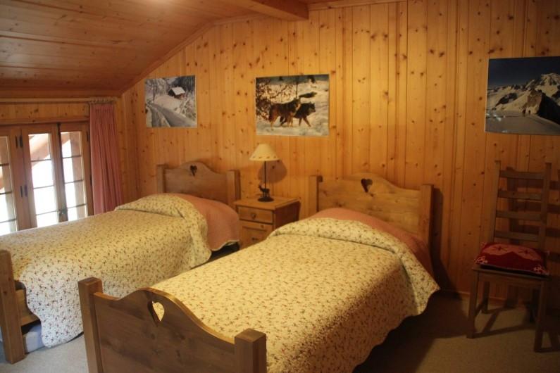 Location de vacances - Chalet à La Comballaz - chambre