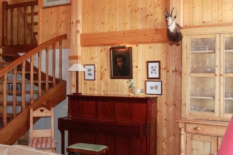 Location de vacances - Chalet à La Comballaz - salon