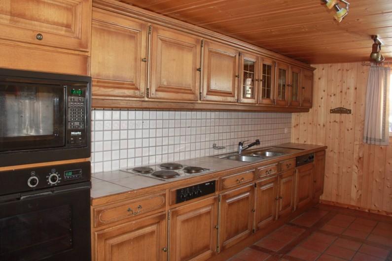 Location de vacances - Chalet à La Comballaz - cuisine