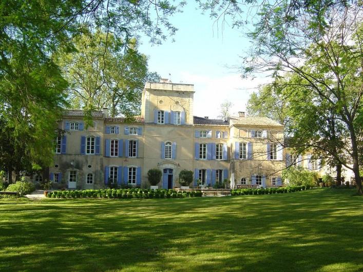 Location de vacances - Chambre d'hôtes à Lamotte-du-Rhône - CHATEAU DES BARRENQUES