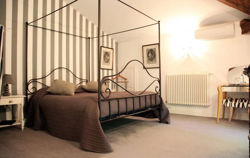 Location de vacances - Chambre d'hôtes à Lamotte-du-Rhône - CHAMBRE MORNAS