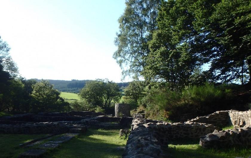 Location de vacances - Gîte à Saint-Hilaire-les-Courbes - Visitez les monuments romanesque a 'Les Cars'