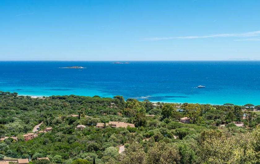 Location de vacances - Maison - Villa à Porto-Vecchio - Vue Panoramique depuis notre Résidence!