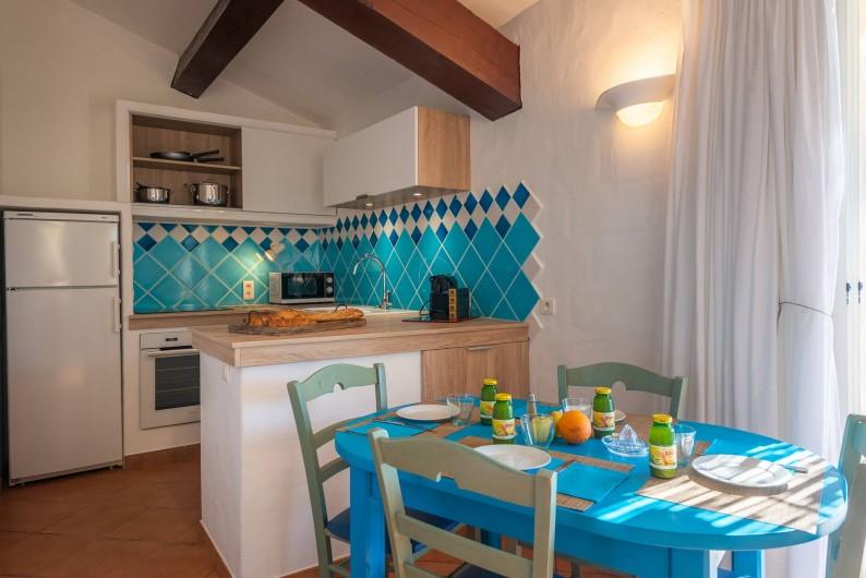 Location de vacances - Maison - Villa à Porto-Vecchio - Mini-villa pour 1-4 pers, coin cuisine