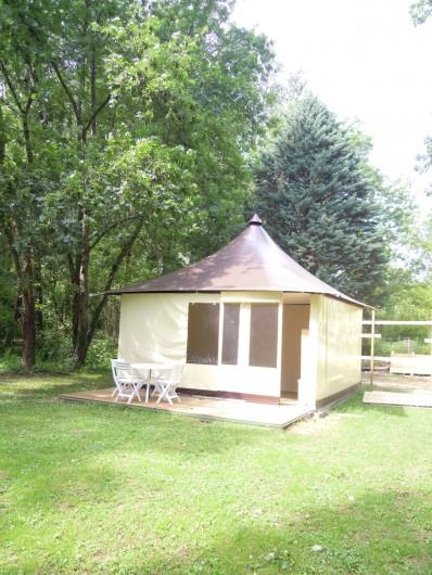 Location de vacances - Camping à Saint-Rambert-d'Albon - TENTE MARRAKECH