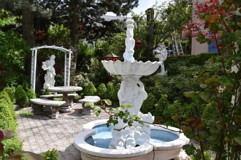 Location de vacances - Villa à Pierre-Châtel - Jardin romantique